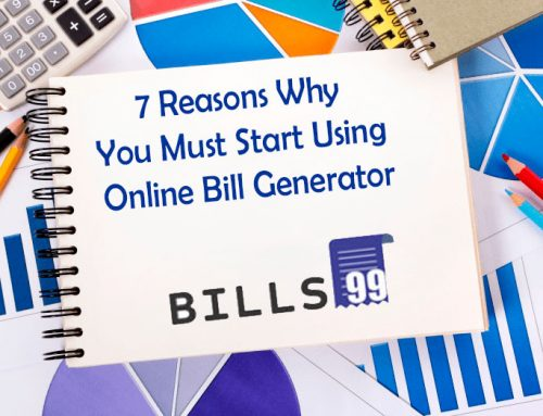 Online Bill Generator – 7 Reasons Why You Must Start Using It Now